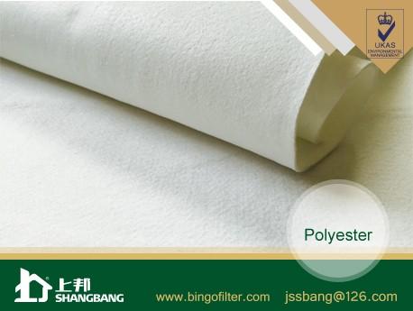Water& Oil Repellent Polyester Needle Felt