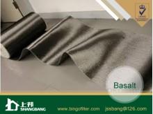 Basalt filter cloth